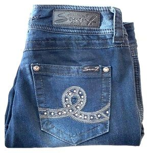 7 For All Mankind Blue jeans (skinny)